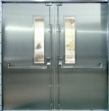View larger image of Steel Fire Exit Door Armourdoor AD10 from HAG - The Door Specialists