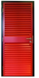 View larger image of Steel Louvered Door Armourdoor AD30 from HAG - The Door Specialists